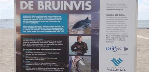 infobord op strand
